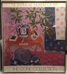 Henry Matisse Magnolia Branch Origl Balt Museum Art Cone Collection 1980