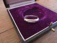 Schöner 925 Silber Ring Signiert TVG Designer Zikonia Vier Steine Vintage Top