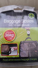 TRAVALING BAGGAGE SCALES, NEVER GO OVER YOUR LIMIT. BNIB