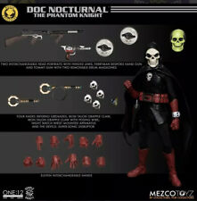 MEZCO ONE:12 DOC NOCTURNAL SWAG SET w/ X-Large T-Shirt Confirmed Pre Order