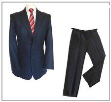 "Roderick Charles London mens 2 piece suit Ch42""R W36"" L31"" Navy Birdseye"