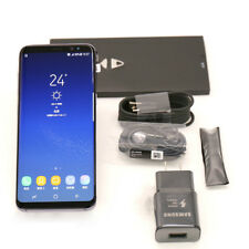 SAMSUNG Galaxy S8+ Plus 64GB Unlocked Smartphone Black Fast Shipping(A)
