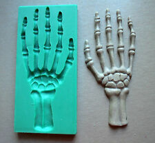Silicone Mould / HALLOWEEN / Hand skeleton /