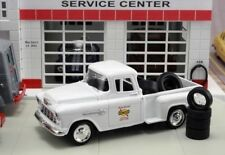 "NEW IN BOX 1/43 Diecast ""Sunoco"" Service Station 1955 Chevrolet Pickup & Tires"