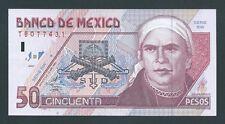 F.C. MEJICO MEXICO , 50 PESOS 1999 , MBC+ ( VF+ ) , P.107d .