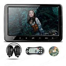 10 Zoll Auto DVD Player Kopfstütze HD Digital Monitor HDMI USB Kopfhörer inkl.