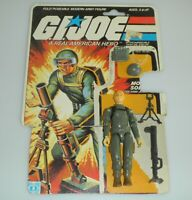 1982 GI Joe Short Fuze v1 Straight Arm Figure w/ File Card Back *100% Complete
