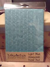 "Inky Antics """"Light Blue"" Honeycomb Paper Pad"
