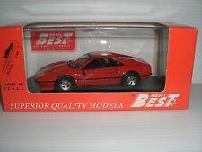 Best 1/43 scale Red Ferrari 308 GTB 1975 Pinnfarina DieCast Made in Italy