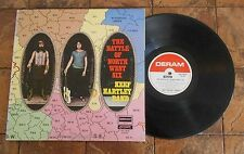 KEEF HARTLEY BAND  THE BATTLE OF NORTH WEST SIX  PSYCH LP