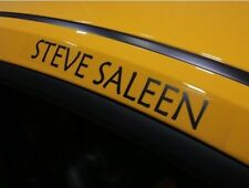 RARE Steve Saleen S281 S302 Ford Mustang Roof Decals - GT V8 4.6L V6 4.0L 5.0L