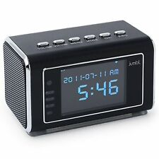 Jumbl™ Mini Hidden Spy Camera Radio Clock w/Infrared Night Vision - Black