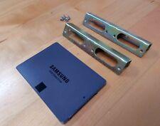 "SAMSUNG SSD 840EVO 120GB Model MZ-7TE120 with 2.5"" to 3"" adapter bracket"