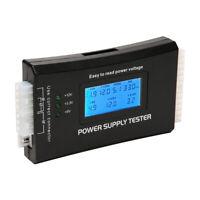 Power Supply Tester PC Computer LCD 20/24 Pin 4 PSU ATX BTX ITX SATA HDD Digital