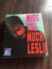 張國榮Leslie Cheung 张国荣 Miss YOU much Leslie 3cd 大马版 马来西亚版 Malaysia press