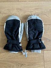 Men's Trespass Ski Gloves - Black/Grey - L