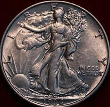Uncirculated 1936 Philadelphia Mint Silver Walking Liberty Half