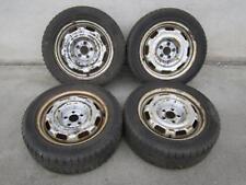 Stahlfelgen Winterreifen 195 55 VW Golf 3 Passat 35i Corrado 6x15 ET38 5x100