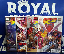 Deadpool VS. X-Force #1 2 3 4 (1-4) 1st Print Set Marvel Comics 2014 NM-