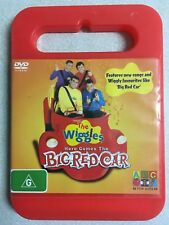 DVD ORIGINAL THE WIGGLES HERE COMES THE BIG RED CAR 2005 EUC