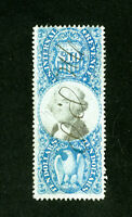 US Stamps # R128 VF fresh used Scott Value $230.00