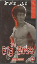 BRUCE LEE ~ THE BIG BOSS ~ PAL REGION VHS 99p