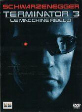 TERMINATOR 3 Le macchine ribelli (2003) 2 DVD SLIP BOX ORIGINALE NUOVO SIGILLATO
