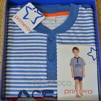 PIGIAMA SERAFINO MEZZA MANICA BIMBO COTONE PRIMERO ART. E10208