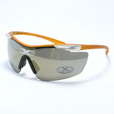 3a6c32a5c3a All Sports Sunglasses Wrap Around Half Rim Comfort Wear ORANGE