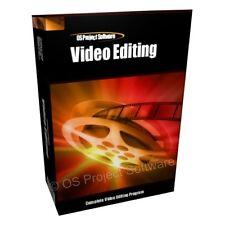 VIDEO EDITING MOVIE STUDIO EDIT CUT MASTER SOFTWARE FOR PC MAC OSX
