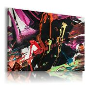 PAINTING ABSTRACT PRINT CANVAS WALL ART PICTURE AB571 MATAGA UNFRAMED-ROLLED