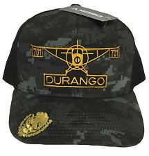 EL AVION DEL CHAPO DURANGO   MEXICO  701 HAT 2 LOGOS DIGITAL HAT GRAY BLACK