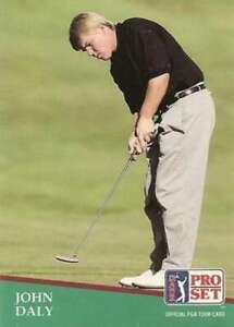 """""""MINT"""" JOHN DALY 1991 PRO SET GOLF """"OFFICIAL PGA TOUR CARD"""" #93!"""