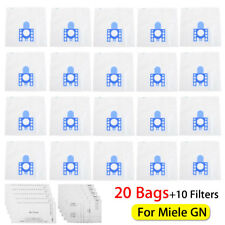 20Bags Vacuum Cleaner Hoover Dust Bags+10 Filters For Miele GN S2110 S2111