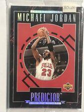 MICHAEL JORDAN 1995-96 UPPER DECK PREDICTOR SET R1-R-10 FACTORY SEALED SET