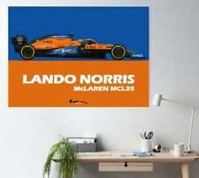 Lando Norris McLaren MCL35 2020 F1 Print - Scuderia GP