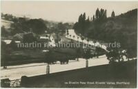 Sheffield, Rivelin New Road 1927 Real Photo Postcard, C033