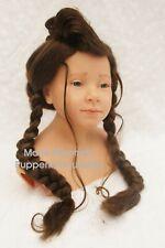 Puppenperücke HK-Braun KU:29/31 * Menschenhaarähnlich * HochwertigMarie-Mischell