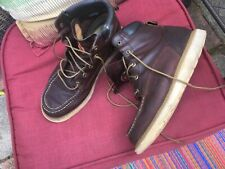 Red wing Irish setter moc construction boot work boot 11