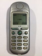 original SIEMENS S35 GSM Cellular Made In Germany Vintage Unlocked Phone Working