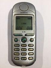 original SIEMENS S35 GSM Cellular Made In Germany Vintage Unlocked Phone Working