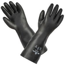 "Size S,M,L SHOWA 3415 -1 PR Neoprene Chemical Resistant Gloves,14"" Rough Finish"