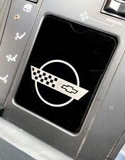 C4 Corvette Center Console Cover BLACK (1984 - 1989)