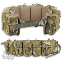 MTP / MULTICAM 4 POUCH PARA AIRBORNE WEBBING BRITISH ARMY MILITARY