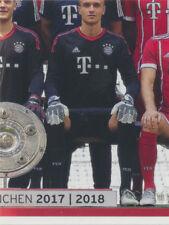 BAM1718 - Sticker 8 - Mannschaftsbild - Panini FC Bayern München 2017/18