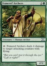 4x MTG: Femeref Archers - Green Uncommon - 10th Edition - 10E - Magic Card
