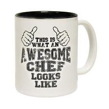 Funny Mugs This Is What An Awesome Chef Looks Like - NOVELTY MUG secret santa