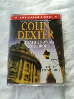 Colin Dexter-Death Is Now My Neighbour cassette audiobook read by Kevin whitely