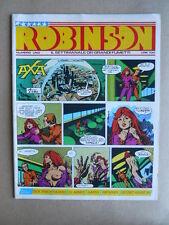 ROBINSON Il settimanale dei grandi Fumetti n°1 1981 - Agent X-9 [G364] BUONO