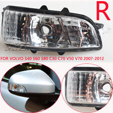 Right  Mirror Light Turn Signal For Volvo S40 S60 S80 C30 C70 V50 V70 2007-2012
